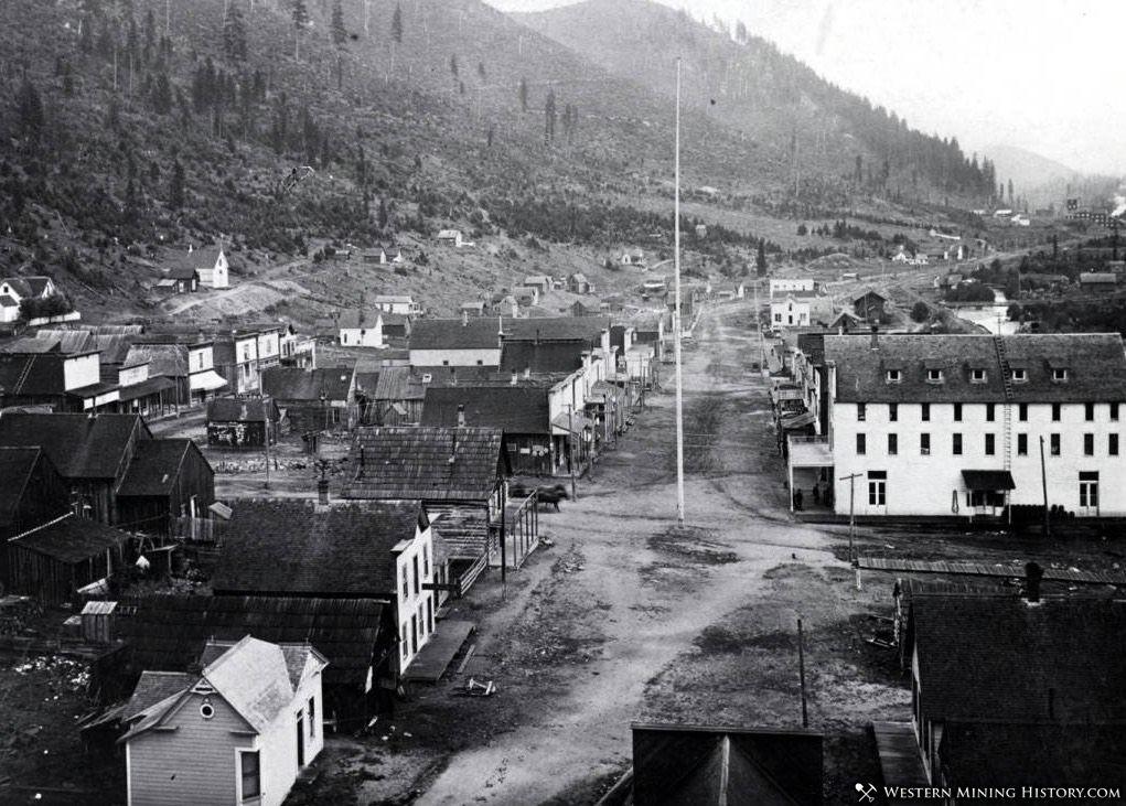 Featured Mining Town: Mullan, Idaho