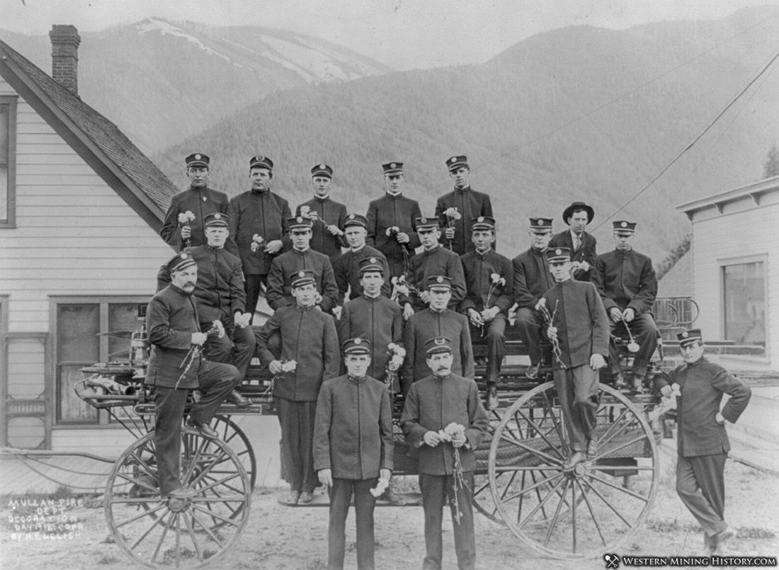 Mullan, Idaho Fire Department - Decoration Day 1912