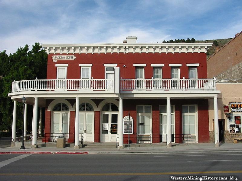 Eureka Nevada historical building