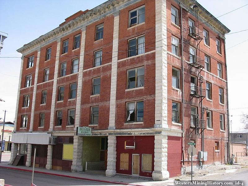 Tonopah Nevada Old Hotel