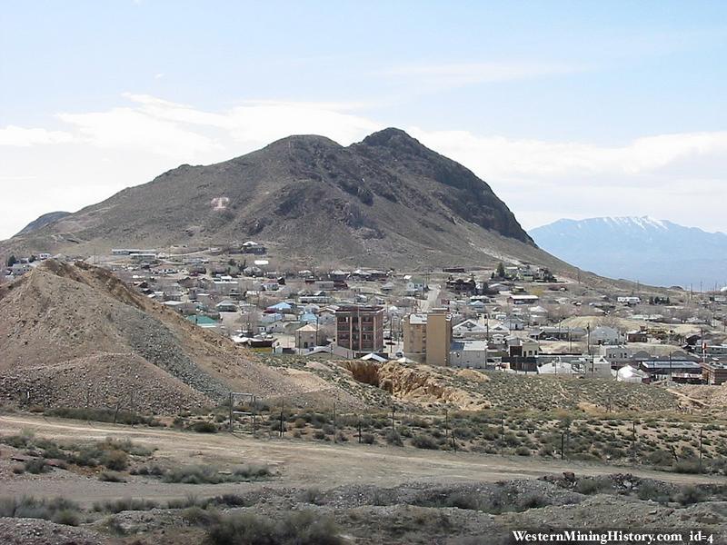 Tonopah, Nevada - seen from the mining park