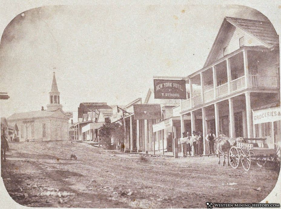 Nevada City, California ca. 1856