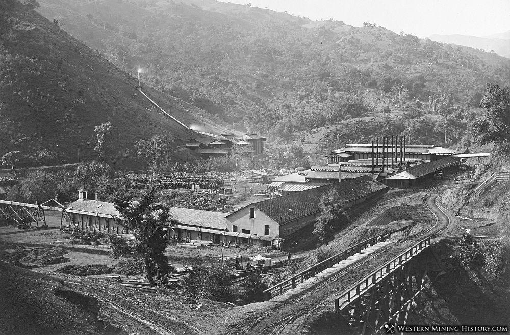 Smelter at New Almaden 1862