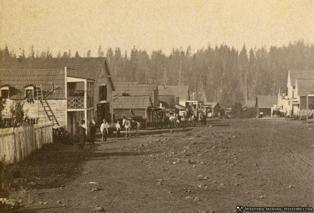 North Bloomfield, California 1860s