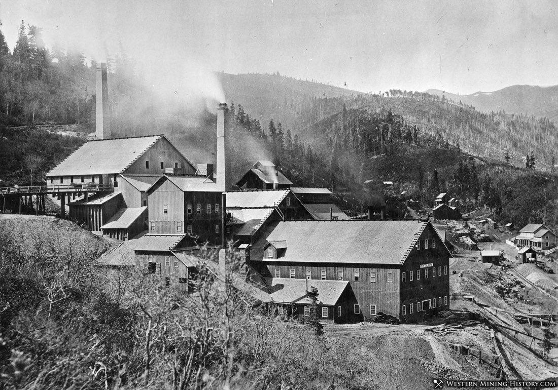 Ontario Mine at Park City Utah 1881