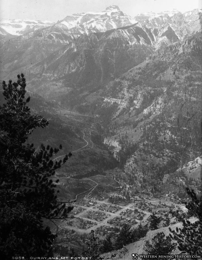 Ouray Colorado 1890s