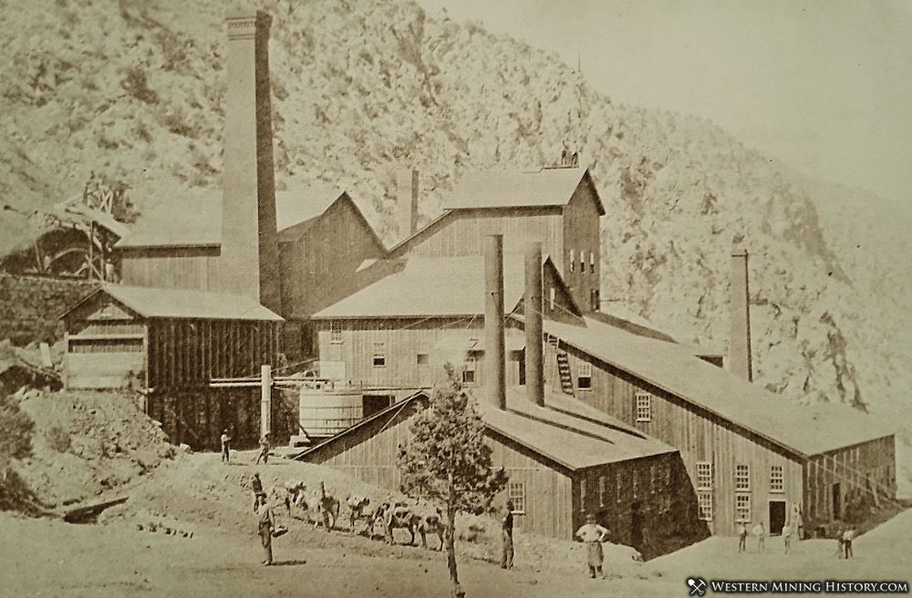 Stamp Mill at Panamint City ca. 1875