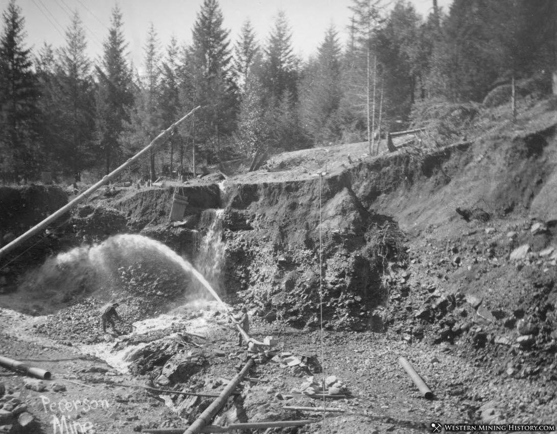 Hydraulic Operation at the Pertson Mine near Sawyers Bar