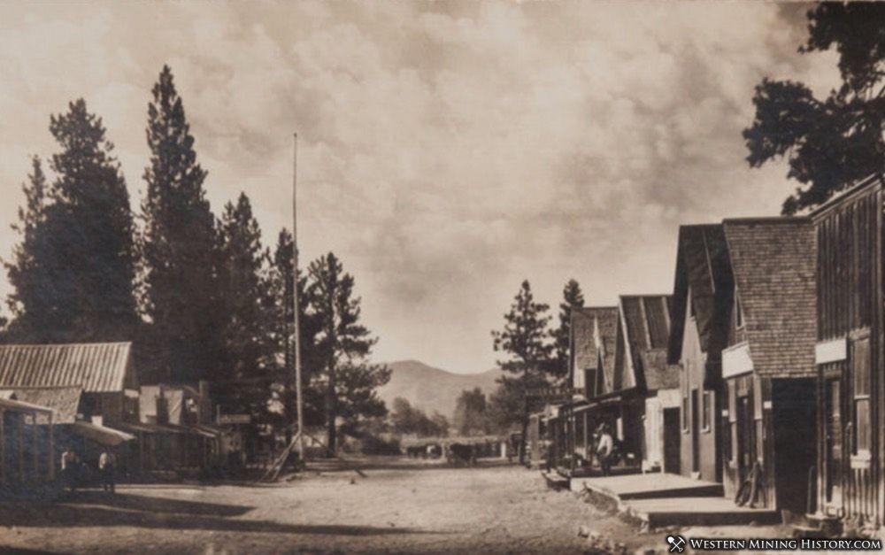 Early view of Pine, Idaho