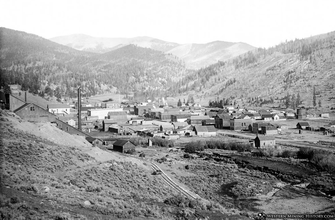View of Pitkin, Colorado ca. 1900