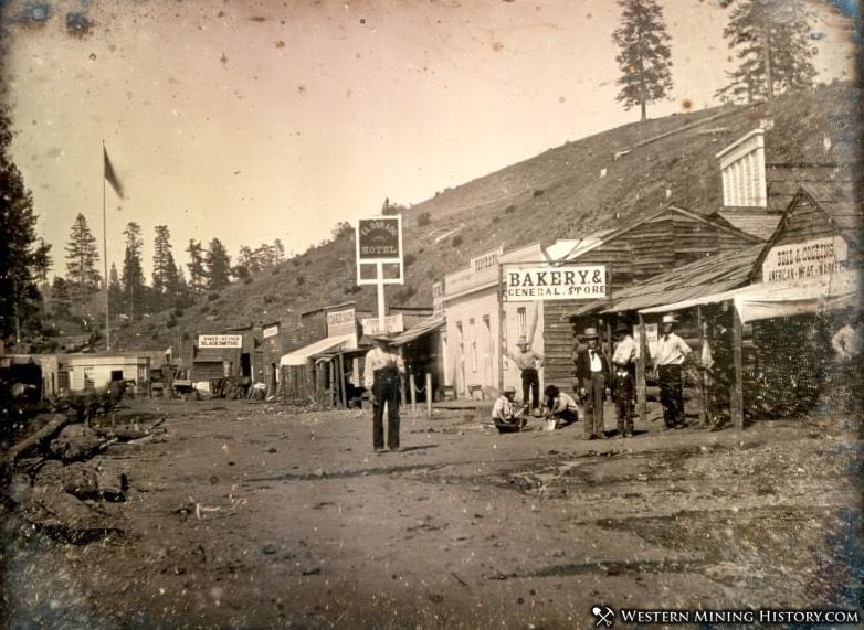 Placerville, California ca 1850