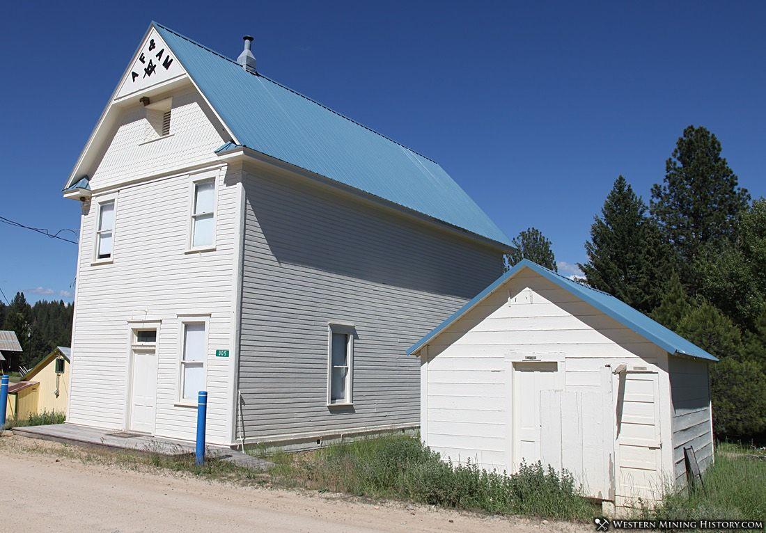 Masons Lodge - Placerville, Idaho