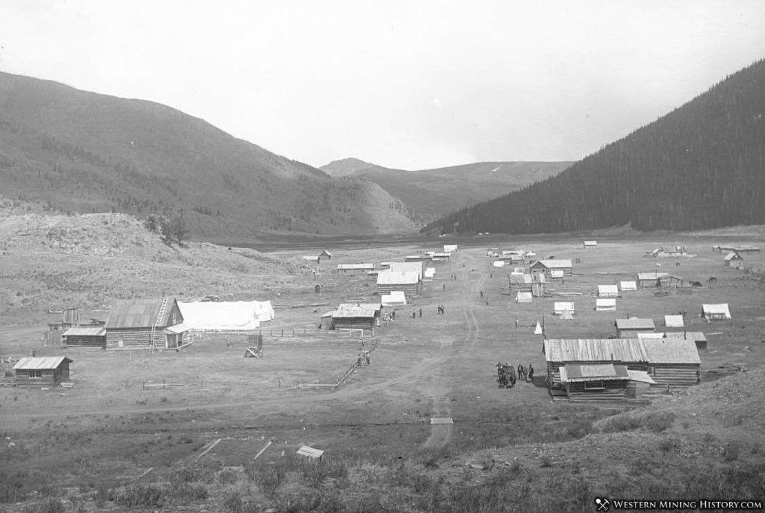 View of Platoro, Colorado ca. 1913