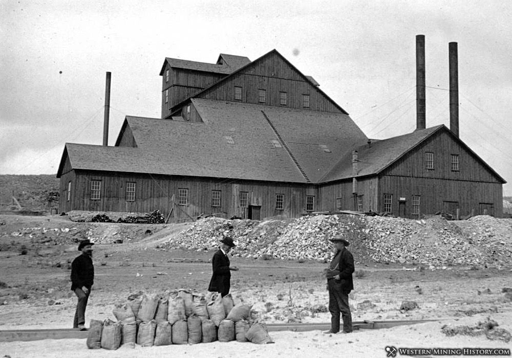 Racine Boy mill near Silver Cliff