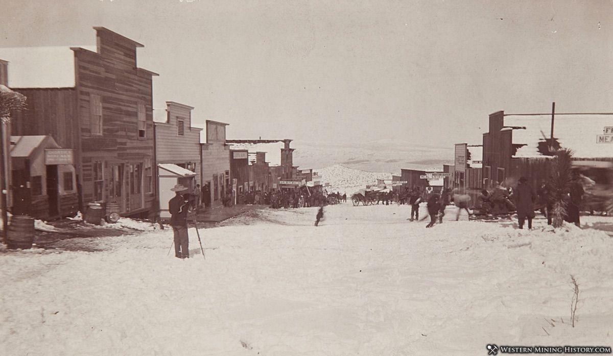C.W. Tucker Photographs Randsburg, California in December of 1897