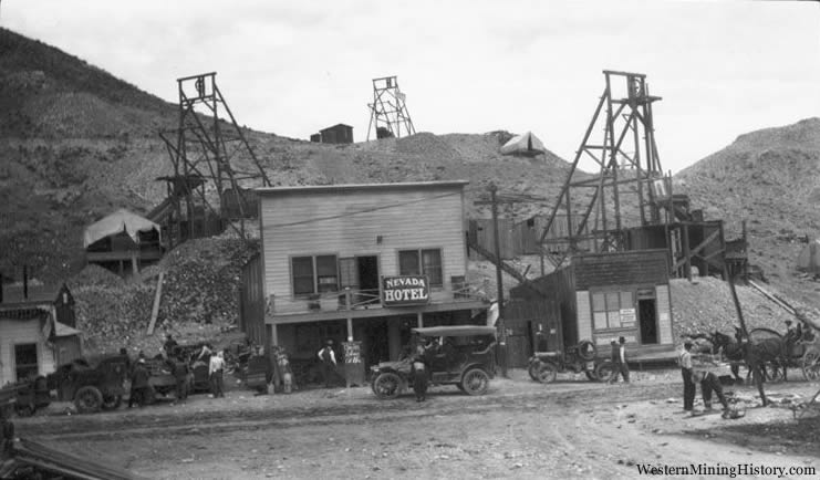 Rawhide, Nevada in 1915