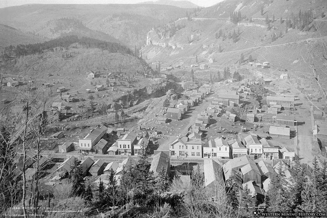 View of Red Cliff, Colorado ca. 1880s