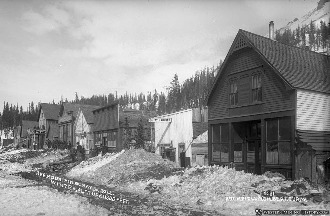 Red Mountain Town ca. 1890