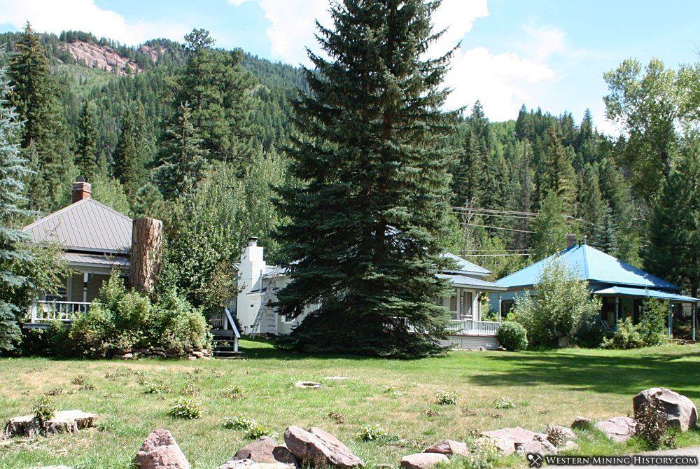 Former company housing at Redstone Colorado