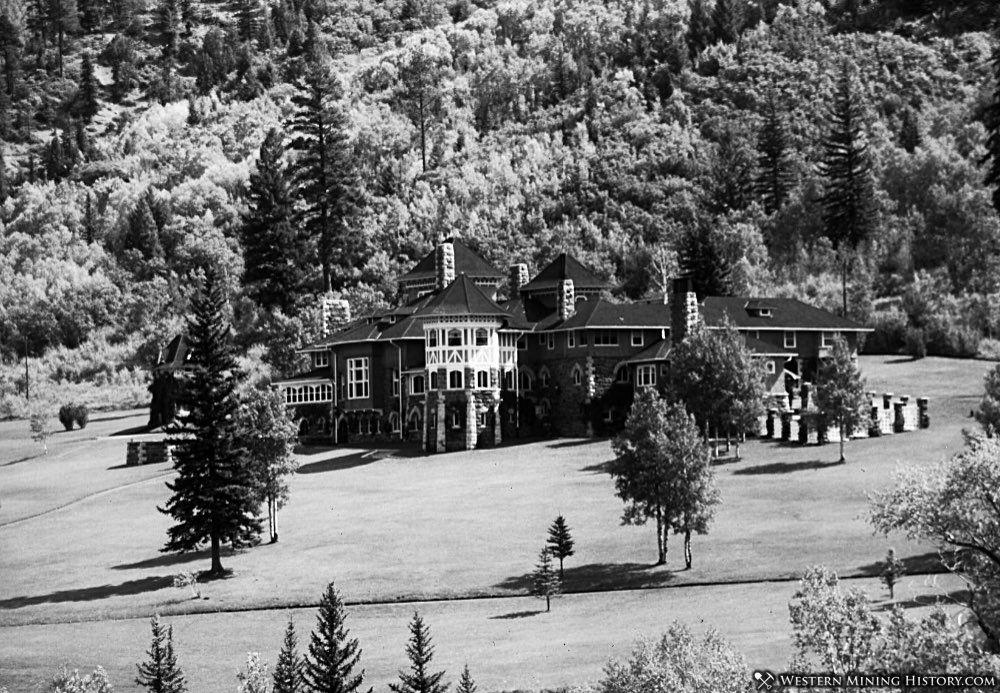 Cleveholm Manor at Redstone Colorado ca. 1905