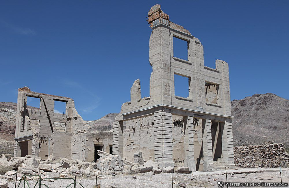 Featured Mining Town: Rhyolite, Nevada