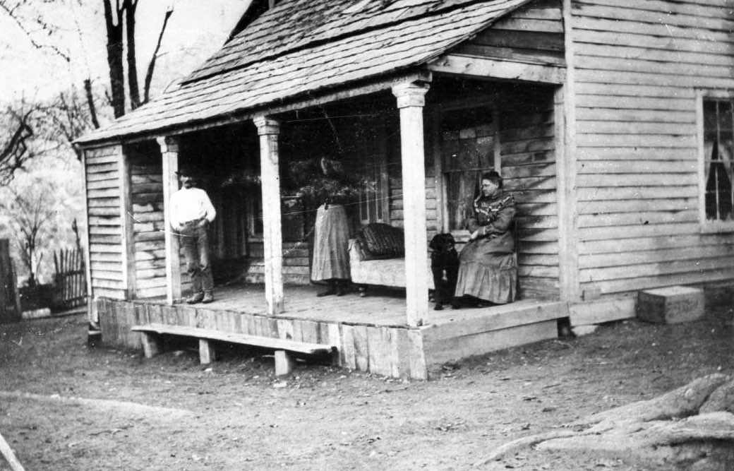 Pioneer Cottage at Rich Bar, California ca. 1910