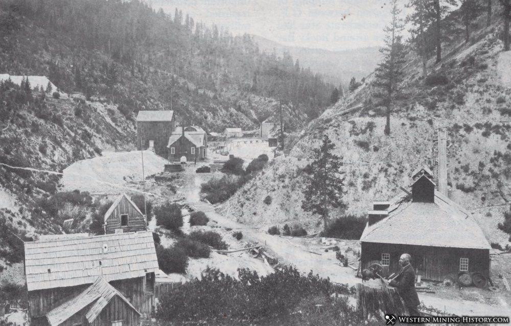 Mines at Rocky Bar Idaho 2018