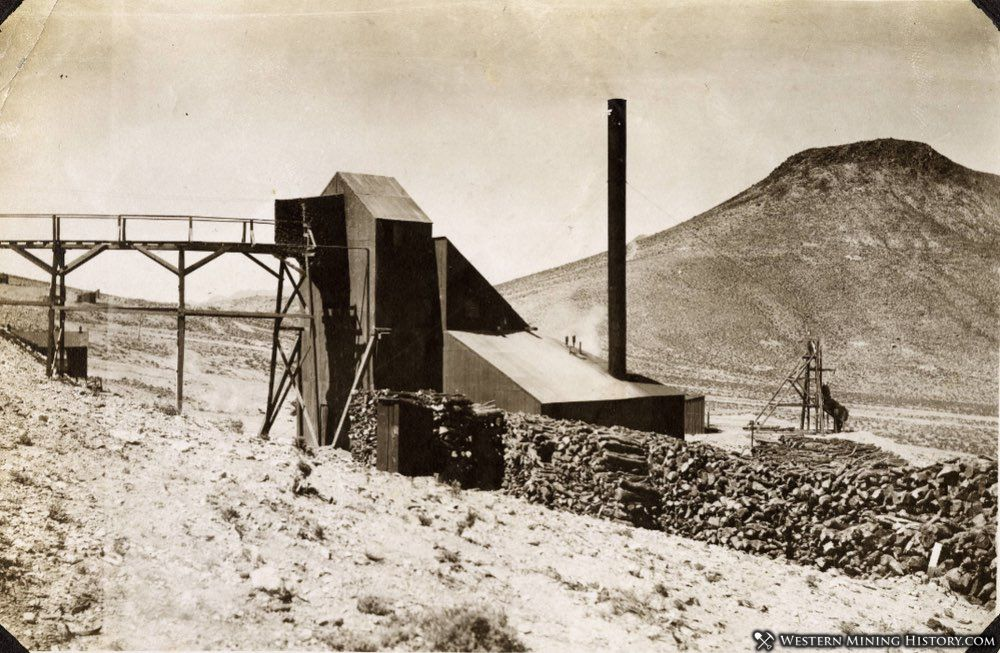 Mine at Round Mountain, Nevada ca. 1910