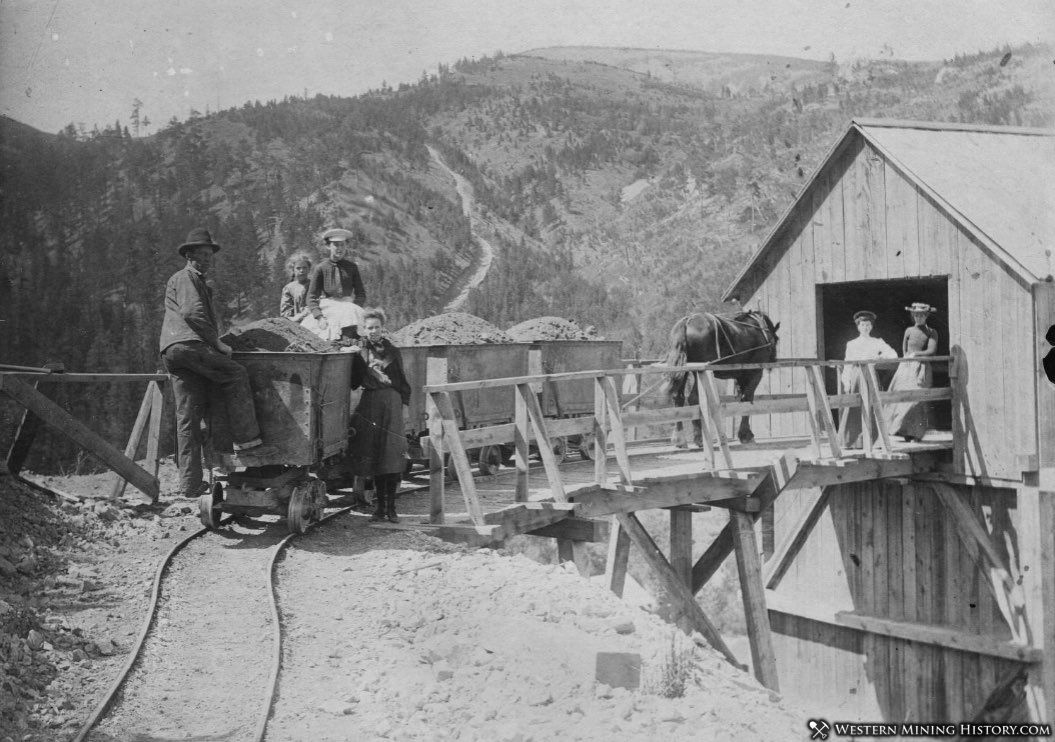 Ruby Gulch Mine near Zortman, Montana ca. 1910