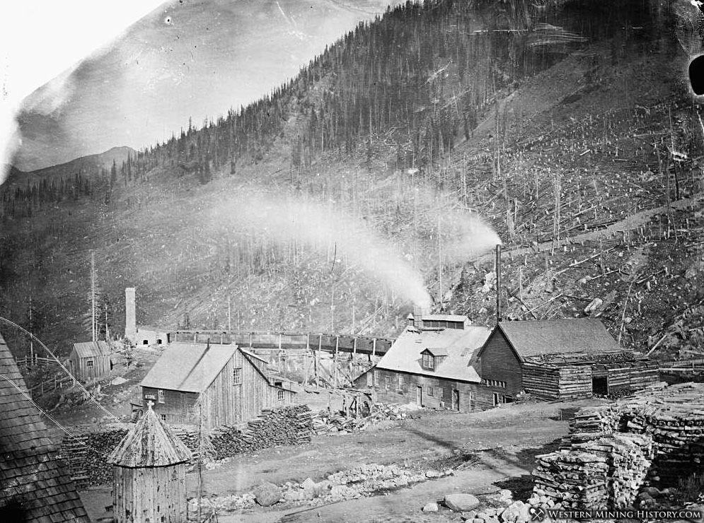 Smelter at Saints John Colorado ca. 1880