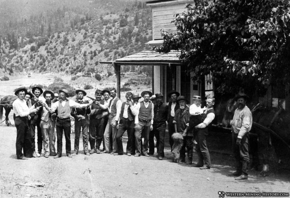 Residents of Scott Bar 1892
