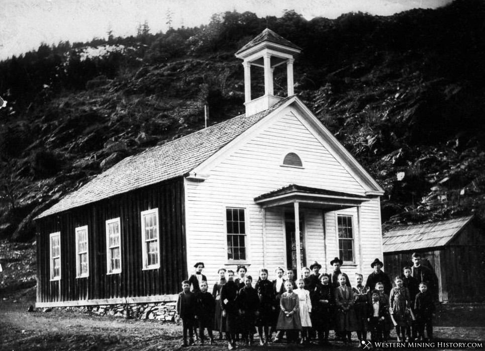 Scott Bar School ca. 1890