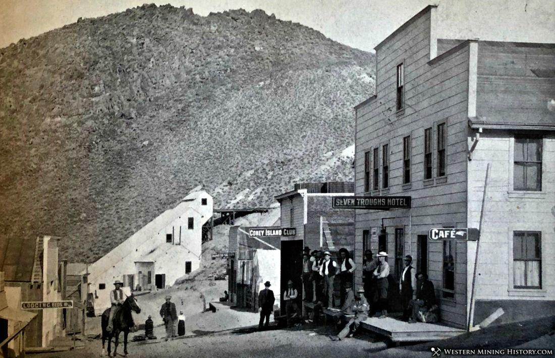 Seven Troughs, Nevada ca. 1908