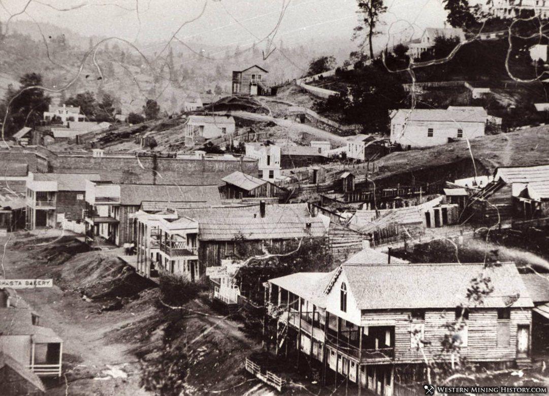 Shasta, California ca 1850