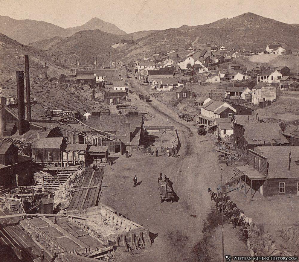 Silver City, Nevada ca. 1880