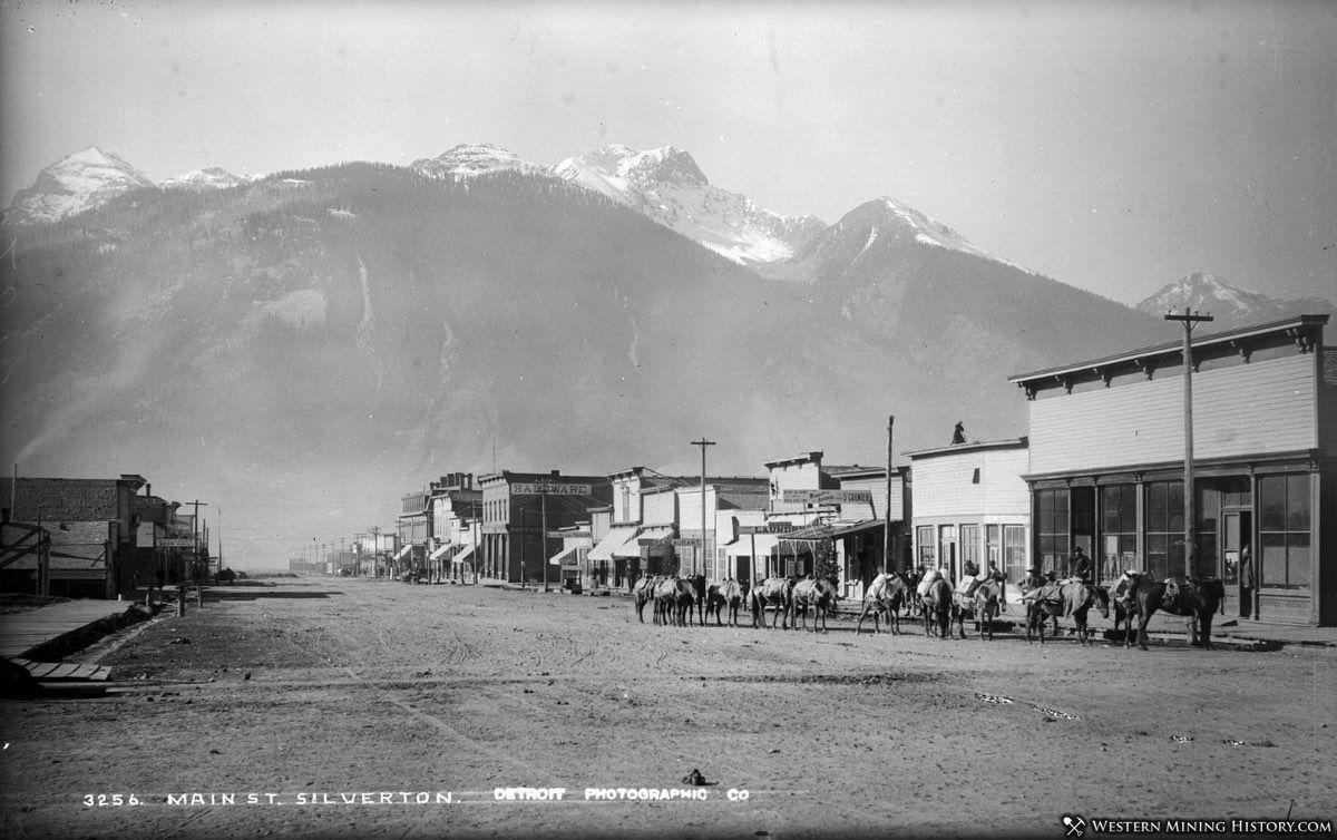Silverton, Colorado ca. 1890s