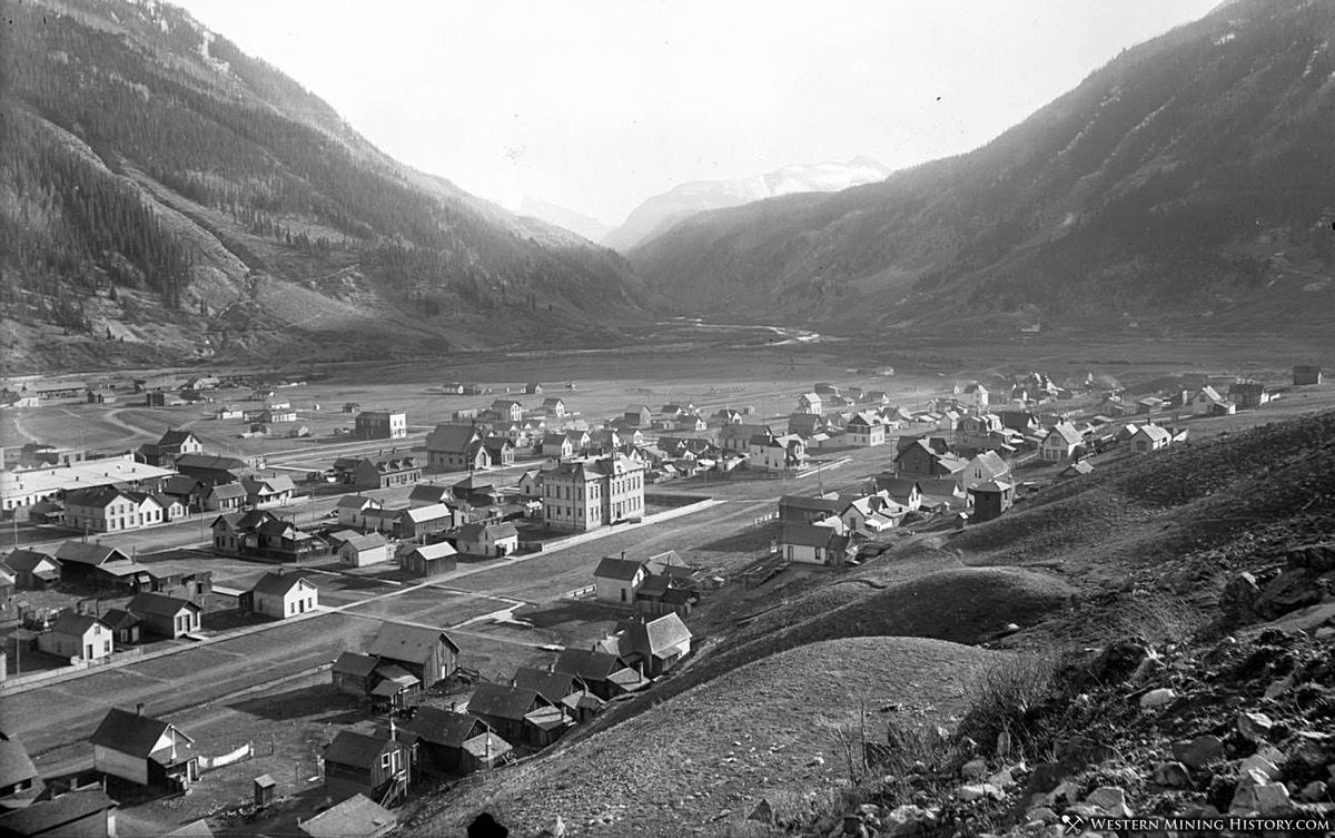 View of Silverton, Colorado 1880s