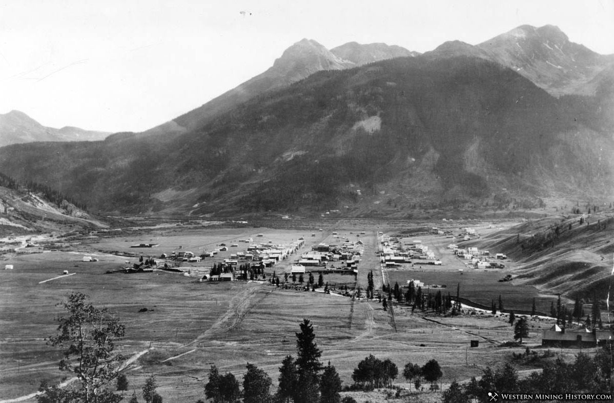 Silverton, Colorado around 1878