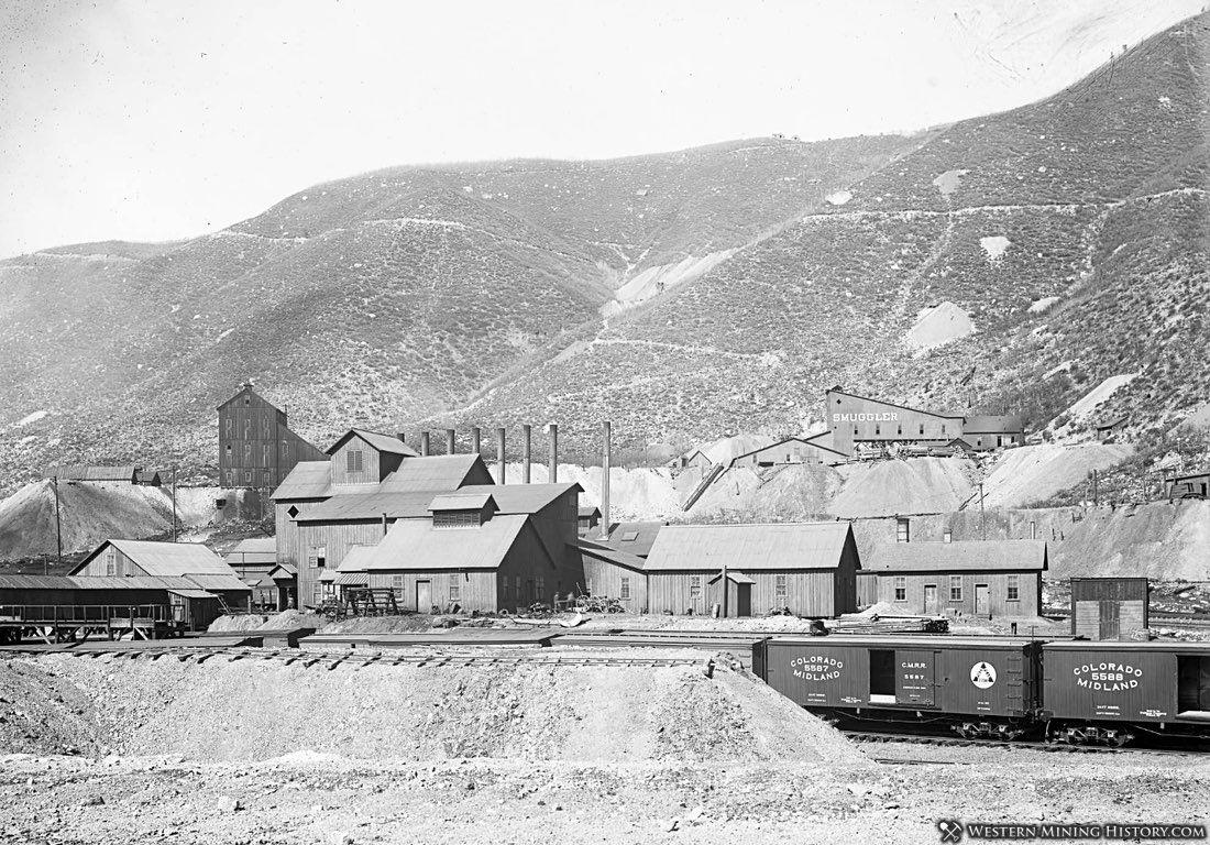 Smuggler Mine - Aspen Colorado ca. 1900
