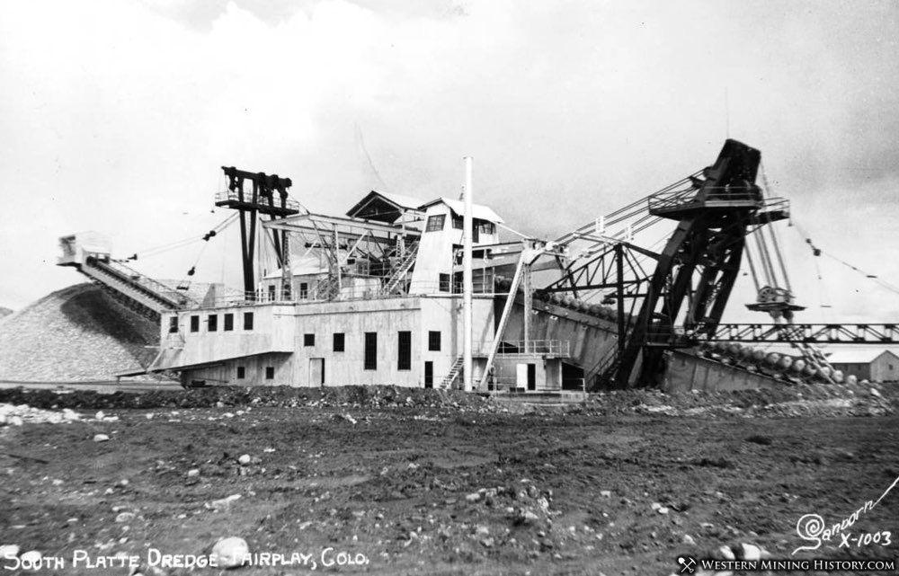 South Park Dredge near Fairplay, Colorado ca. 1930