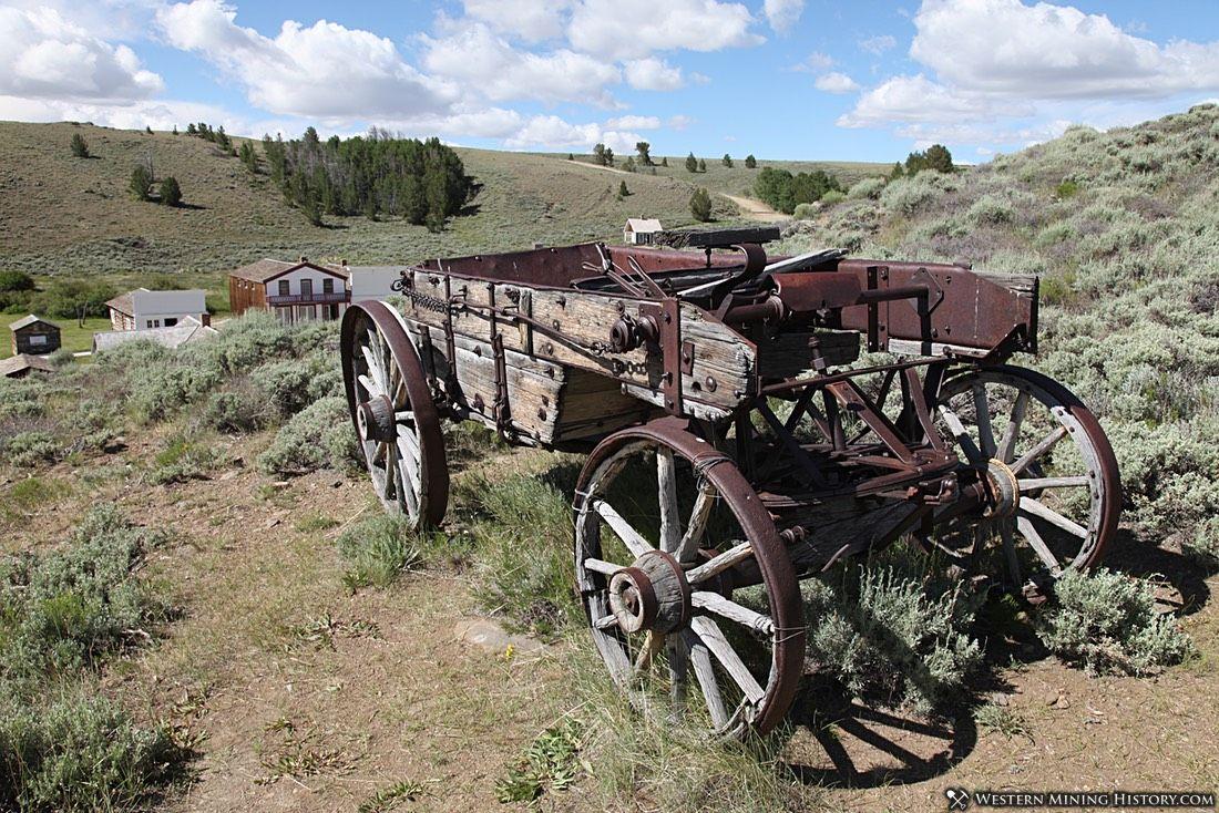 1800s Ore Wagon