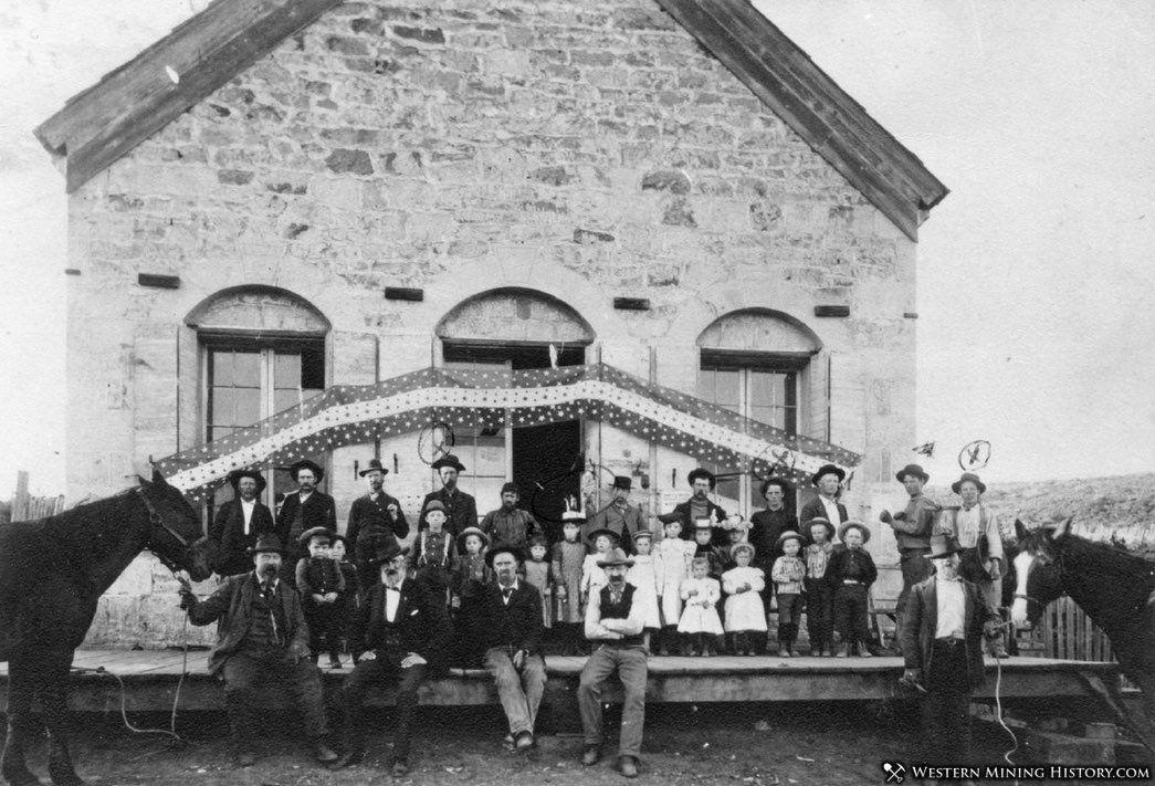General Goods Store at Sparta, Oregon ca. 1900