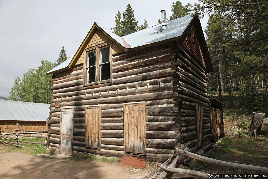 Historic cabin at St Elmo