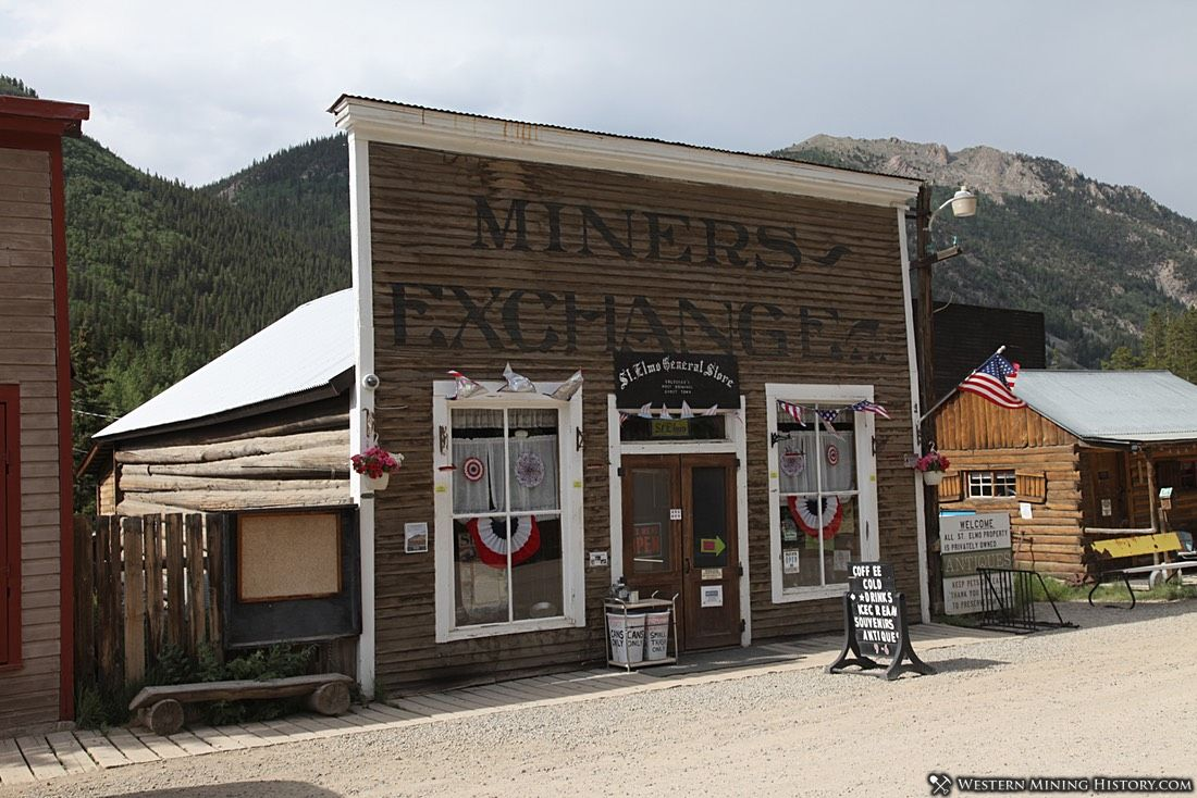 Miners Exchange Building at St Elmo