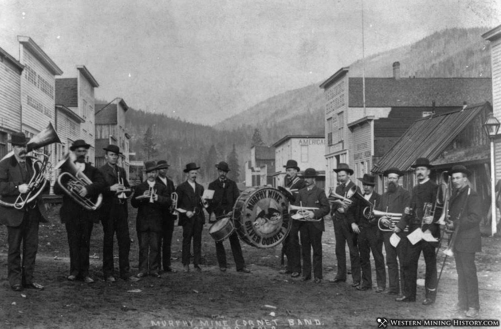 Mary Murphy Mine Cornet Band - St. Elmo ca. 1885