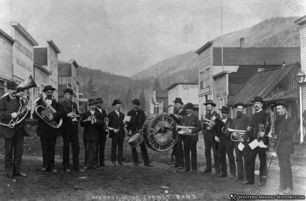 Mary Murphy Mine Cornet Band - St. Elmo ca. 1885