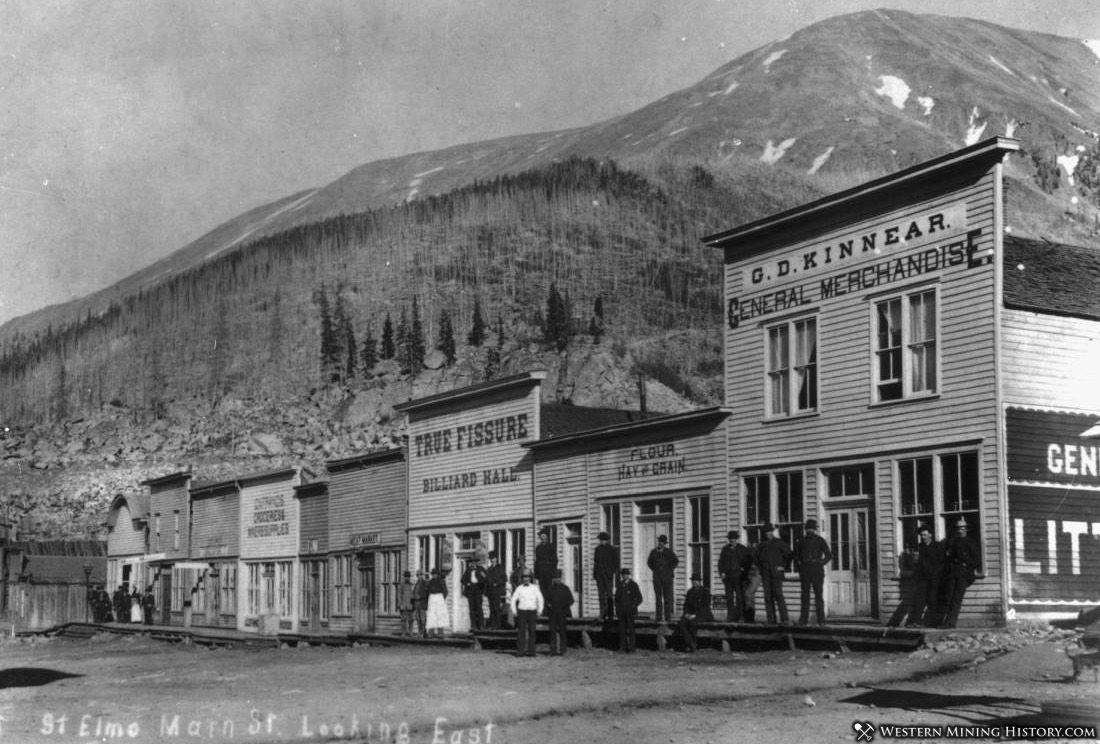 Featured Mining Town: St. Elmo, Colorado