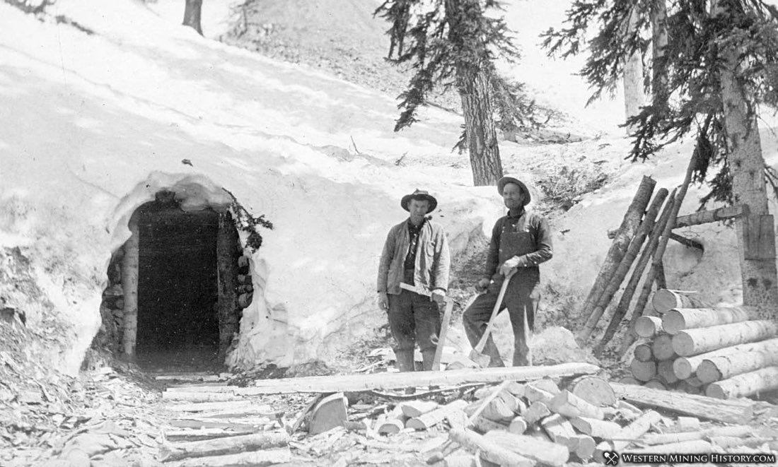 Miners near Stunner, Colorado ca. 1913