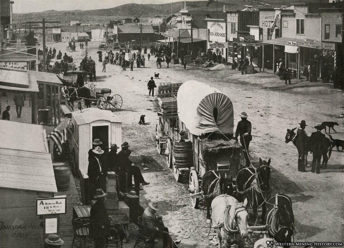 Tonopah Nevada in 1903