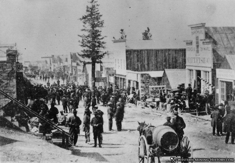 Treasure City, Nevada ca. 1869